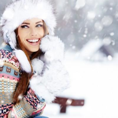 Dodavanje snega na fotografiji u Photoshopu