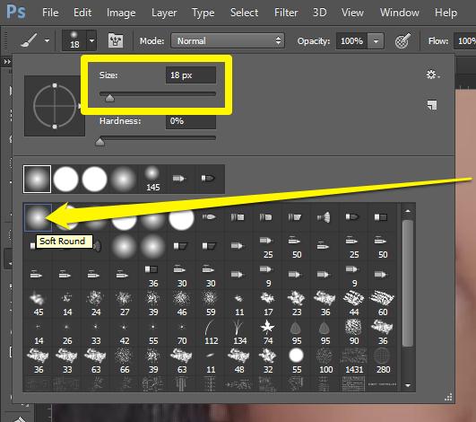 Promena boje ociju u Photoshopu slika 12