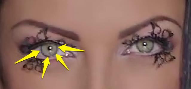 Promena boje ociju u Photoshopu slika 13