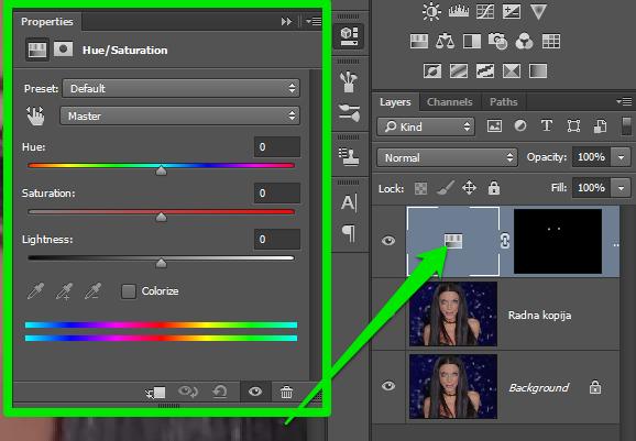 Promena boje ociju u Photoshopu slika 15