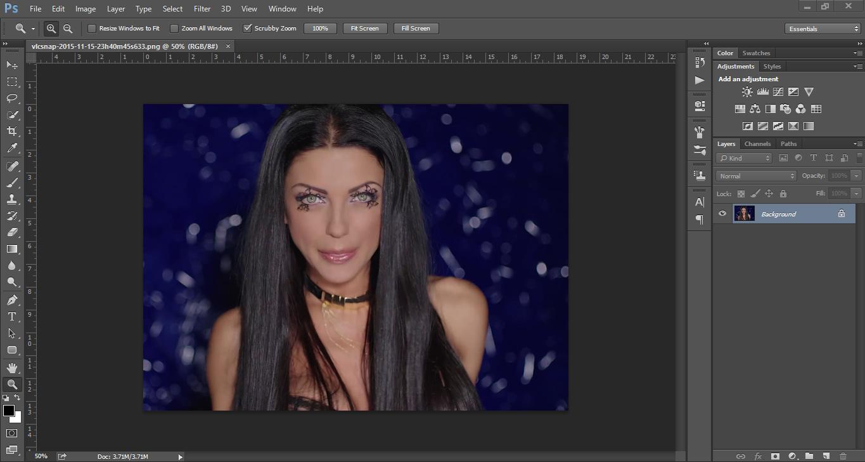 Promena boje ociju u Photoshopu slika 2