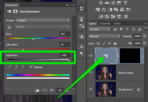 Promena boje ociju u Photoshopu slika 22