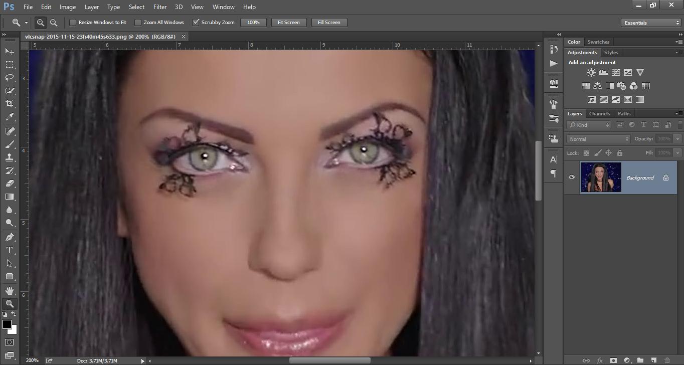 Promena boje ociju u Photoshopu slika 4