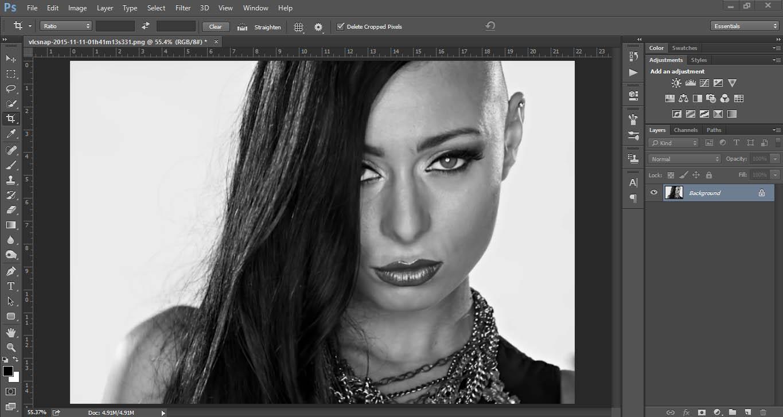 Retusiranje u Photoshopu - uputstvo slika 2
