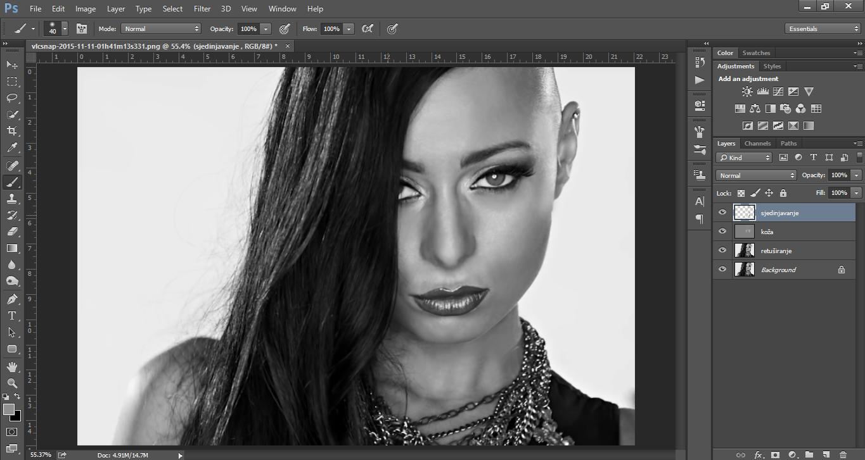 Retusiranje u Photoshopu - uputstvo slika 21