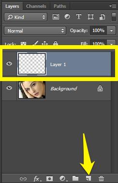 Crtanje obrva u Photoshopu slika 2