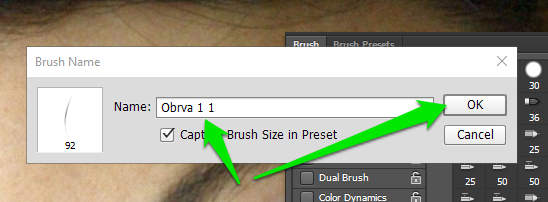 Obrve u Photoshop slika 31