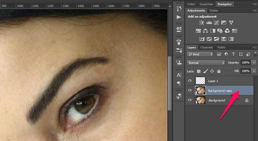 Obrve u Photoshop slika 35