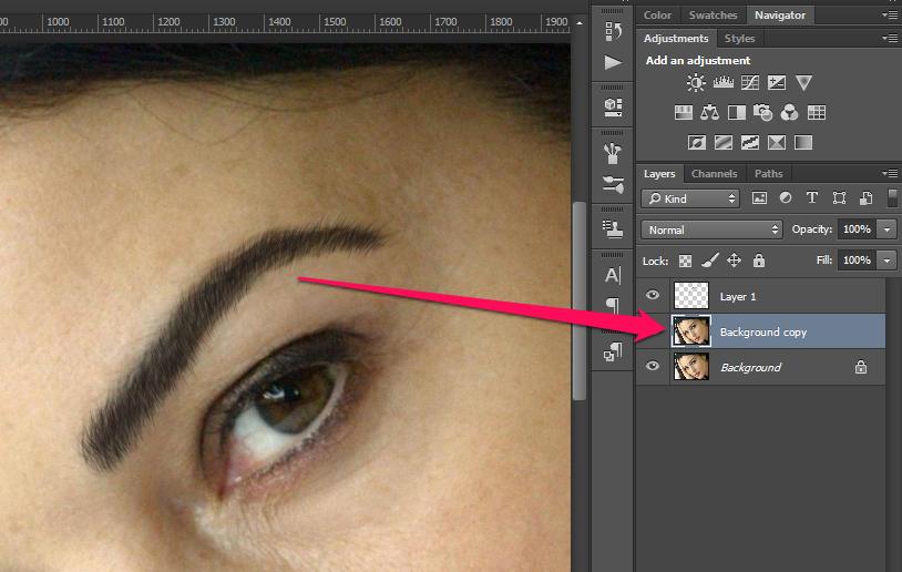 Obrve u Photoshop slika 36