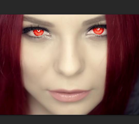 Photoshop – промена боје очију