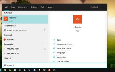 Kako da instaliram Ubuntu terminal na Windows 10
